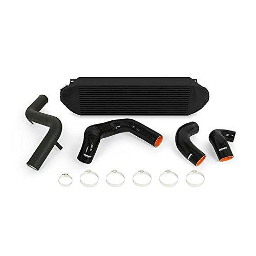 Mishimoto MMINT-FOST-13KBBK Focus ST Intercooler Kit Cooler Black Pipes 2013