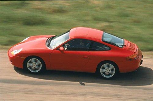 1999 Porsche 911 996 Carrera Coupe Automobile Photo Poster