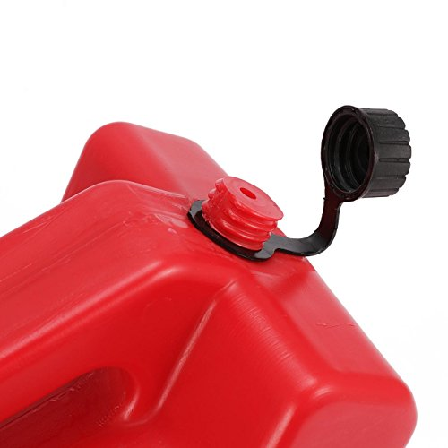 YOUNGFLY 10L Fuel Tank Cans Spare 2.5 Gallon Portable Fuel Oil Petrol Diesel Storage Gas Tank Emergency Backup for SUV ATV UTV Car Air Diesel (red,10L) by YOUNGFLY (Image #4)