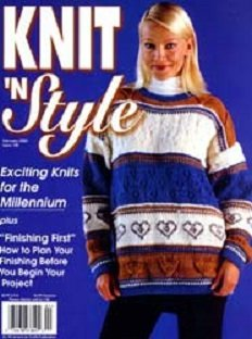 (KNIT 'N STYLE Magazine February 2000 No. 105 (Knit N Style, Knit & Style, Knits for the Millennium,))