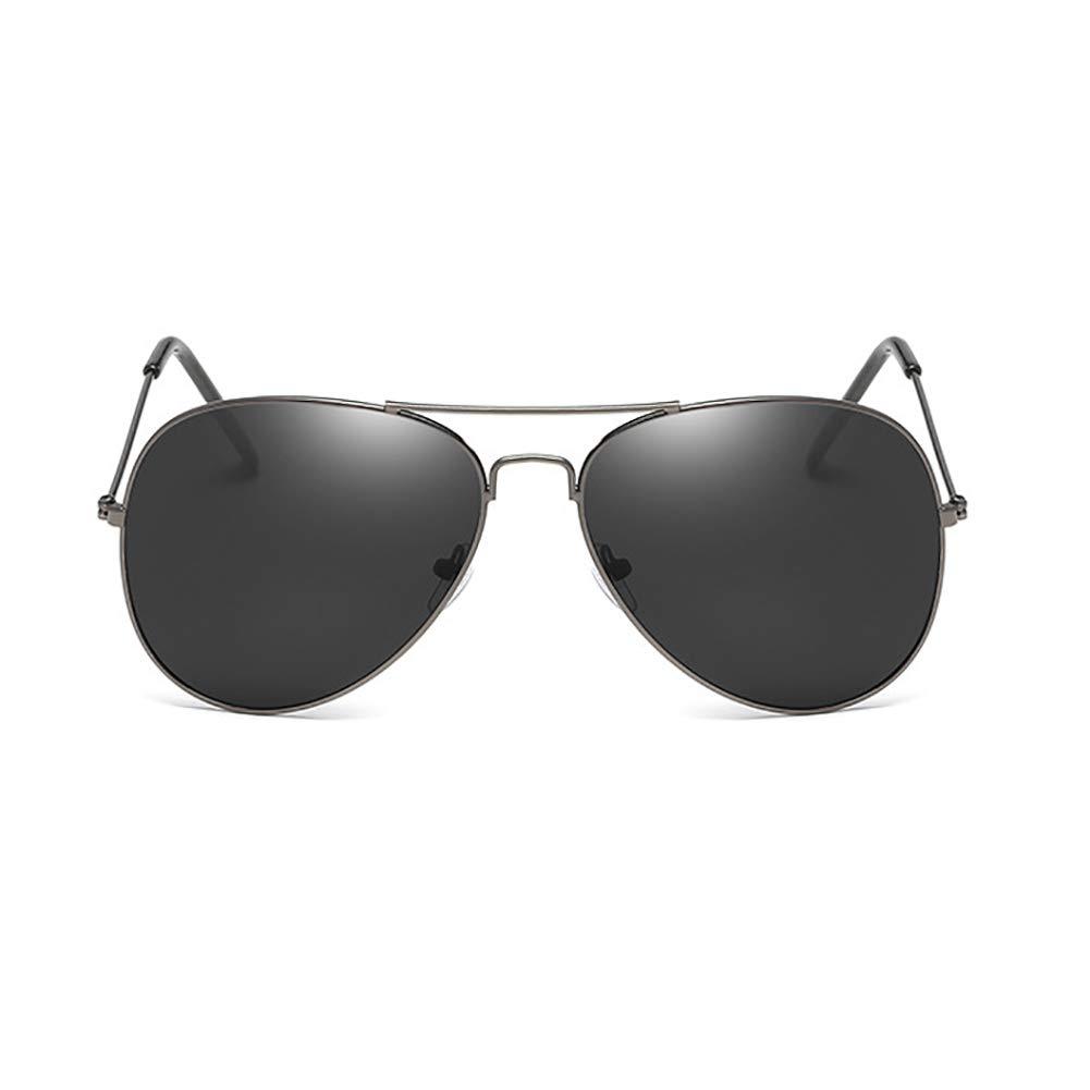 Topsair Fashion Vintage Aviator Sunglasses all Black Classic Trend Sunglasses