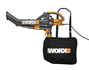 WORX TriVac WG500 12 amp All-in-One Electric Blower/Mulcher/Vacuum  (Older Model)
