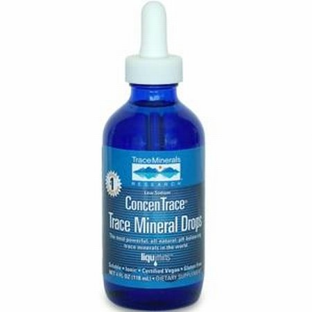 ConcenTrace Trace Mineral Drops - Travel Size - 2 oz.