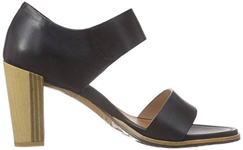 Neosens Gloria - Sandalias de tobillo Mujer Negro - negro (Ebony)