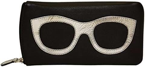 ili 6462 Leather Eyeglass Case