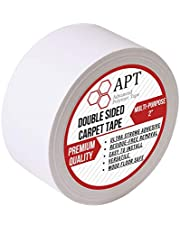 APT, Double Sided Carpet Tape for Area Rugs, Residue-Free, Industrial Strength Carpet Underlayment Adhesive.