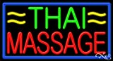 20x37x3 inches Thai Massage NEON Advertising Window Sign