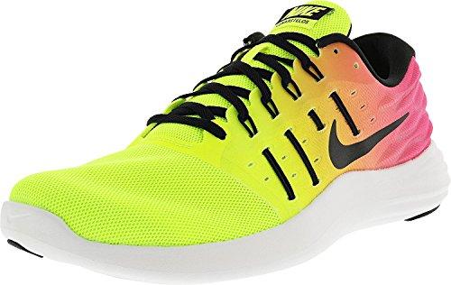 dad8d9127a75e NIKE Men's Lunarstelos Olympic Color Running Shoe Multi-Color Size 11 M US