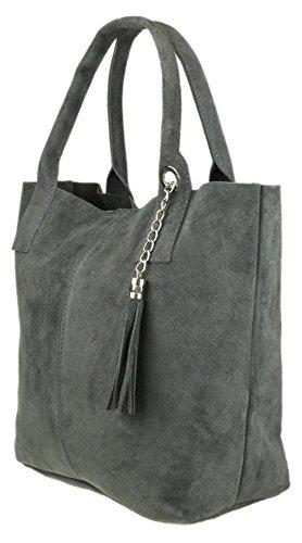 gris para Bolso Handbags Sintético hombro al Girly oscuro de mujer Material xTzaBwqqH