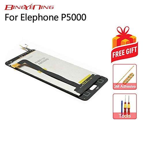 AiBaoQi for Elephone P5000 Touch Screen+LCD Display Assembly Replacement (Black)