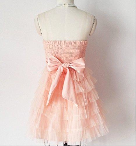 Kleid Drasawee A Damen Linie Pink ttgYxqR