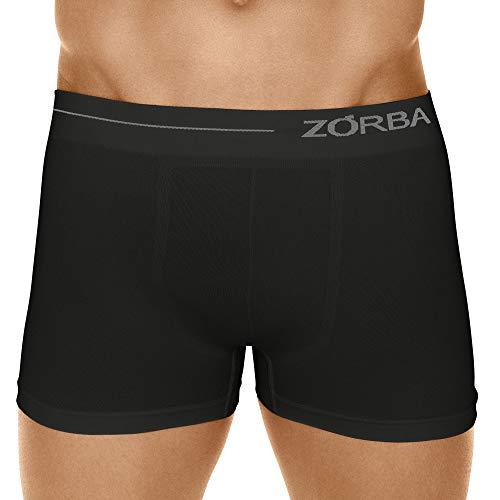 Cueca Boxer Microfibra Side,Zorba,Masculino,Preto,P