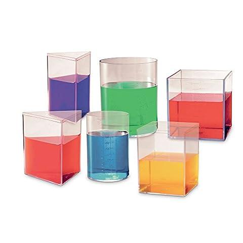ETA hand2mind Liter Volume Measuring Set (Volume Cubes)