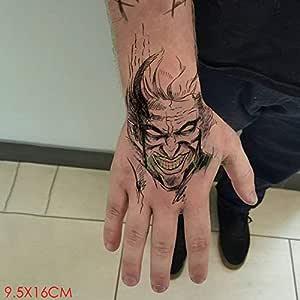 ljmljm 4 Piezas Impermeable Tatuaje Pegatina Leopardo Tigre ...