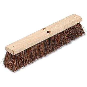 Best Broom For Hardwood Floors hardwood flooring Boardwalk 20118 Floor Brush Head 3 14 Natural Palmyra Fiber 18