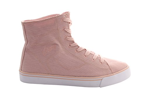 Pastry Cassatta Stretch Canvas Dance Sneakers, Pink, Size 8.5