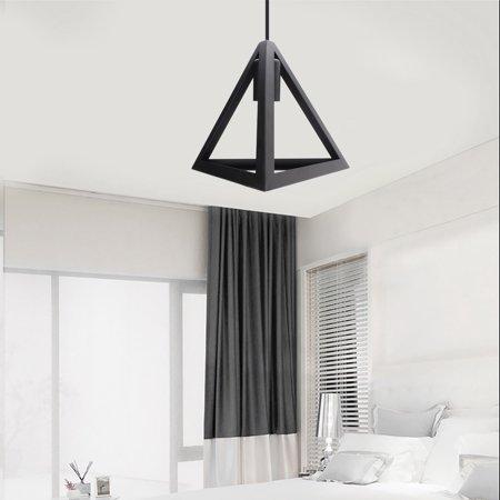 Hot Sale E27 Industrial Vintage Chandelier Ceiling Light Pendant Kitchen Bar Fixture Lamp