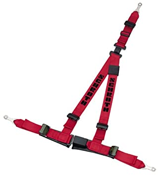 Schroth 10512 3-Point Harness Belt with ASM System Right Red: Amazon
