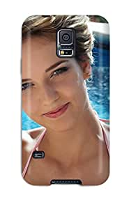 New Arrival Premium S5 Case Cover For Galaxy (cute Brunette At The Pool Girl Beautiful People Women)