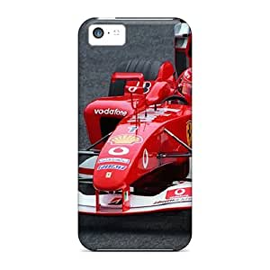 Awesome Michael Schumaherf1 Flip Case With Fashion Design For Iphone 5c
