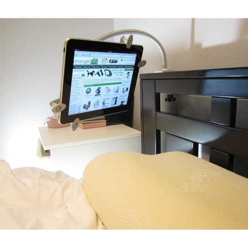 """ChargerCity 7"""" 8"""" 9"""" 10"""" Tablet Aluminum Bed Frame Clamp ..."""