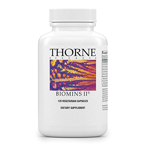 Thorne Research - BioMins II- Comprehensive Multi-Mineral Supplement Without Copper and Iron - 120 Capsules Mineral Supplement 120 Capsules