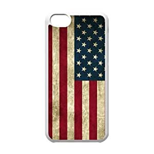 American Flag Unique Fashion Printing Phone Case for Iphone 5C,personalized cover case ygtg-775117