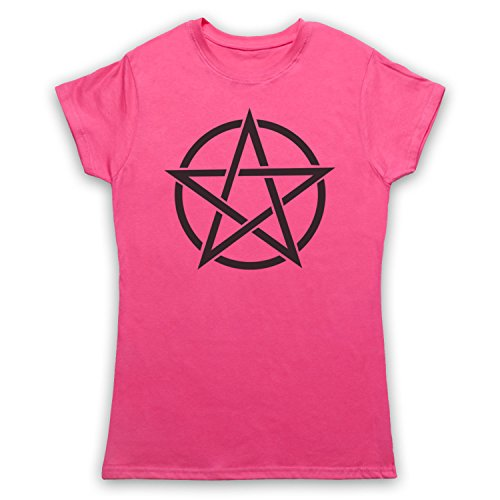 Rosa Symbol Para Art Icon amp; Pentagram My Occult Clothing Camiseta Mujer 8qvYSPxCw