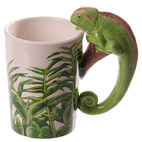 Big Fun Creative 3D Lizard Coffee Mug, 300ml