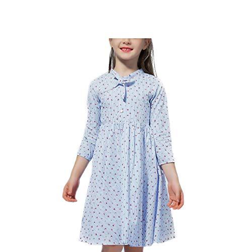 2019 Autumn Spring Kids Dresses for Girls Long
