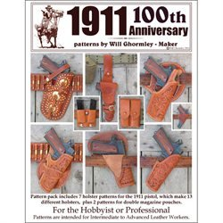Tandy Leather Classic 1911 Patterns 100th Anniversary Pack