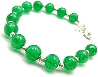 Black Onyx 14 mm Hexagon Handmade Gemstone Chain Bracelet Green Onyx 14 mm Hexagon Party Wear Bracelet For Women Gemstone Chain Bracelet