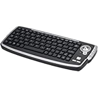 Wireless Multimedia Keyboard with Trackball and Scroll Wheel for PC HTPC IPTV Smart TV and Android TV Box Media Player