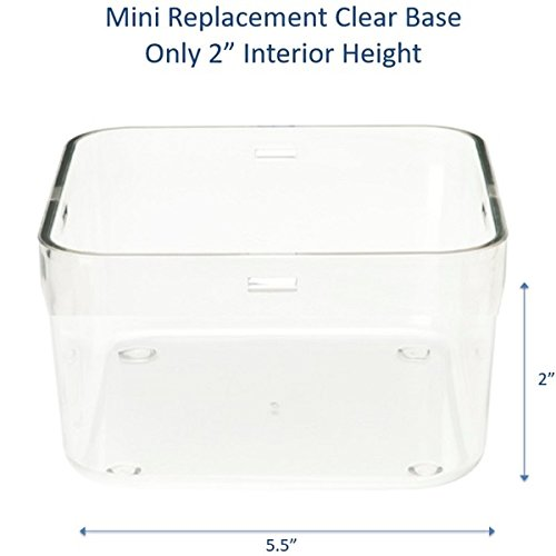 Kitchen Safe: Mini Clear Base Replacement - 2.0
