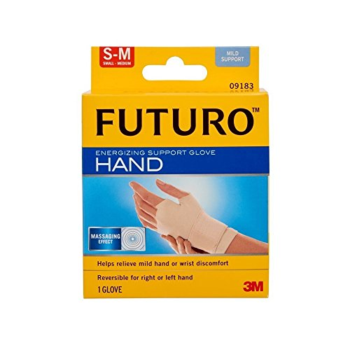 3m Adjustable Keyboard (FUTURO Energizing Support Glove Hand Mild Support S-M 1 Each ( Pack of 2 ))