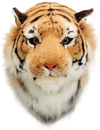Plush Tiger Head Wall Decor Great Tiger Fan Mascot
