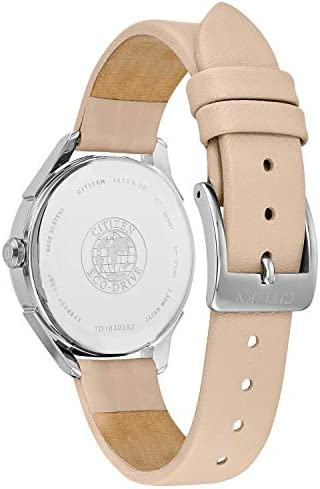 Citizen Women's'Drive' Quartz Stainless Steel and Leather Casual Watch, Color:Beige (Model: FE6140-03A) WeeklyReviewer