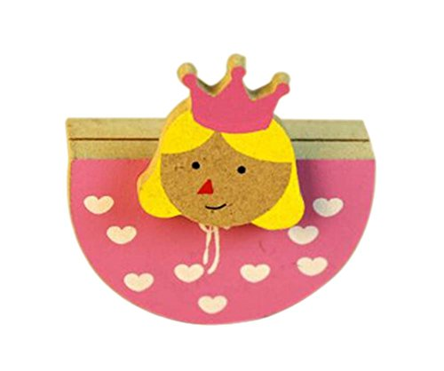 Creative Princess Memo Holder Card/Photo Clip Desk Decor(4 Pieces) (Letter Princess Holder)