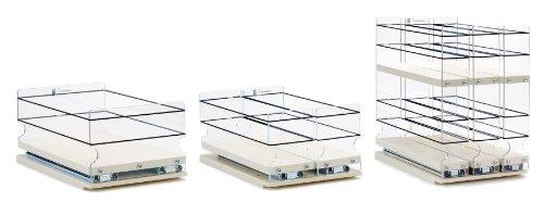 Vertical Spice - x11 Bundle DC - Spice Rack / Storage Organizers - 3 Product Combination Kit (222x2x11, 33x1x11 & 6x1x11)