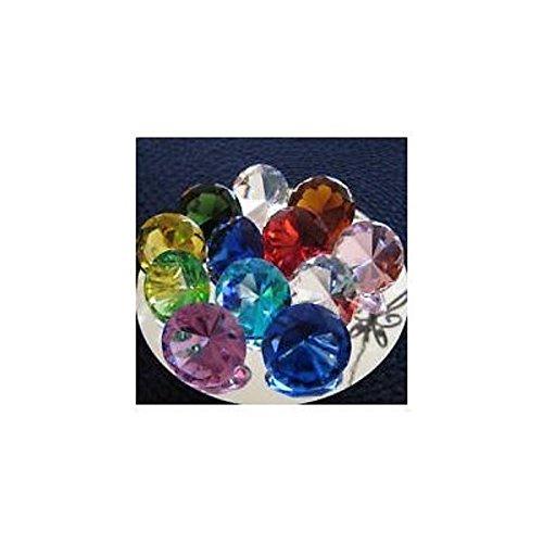 - 12pcs Glass Diamond Paperweights - 50mm Box Set