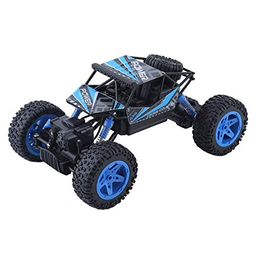 Simoner RC Racing Car, Remote Control Electric 4 Wheel Drive Buggy Rock Crawler Monster Truck, Sport Utility Off-Road Vehicle Toy - Great for Kids and Adults 1:18 Scale (Blue)