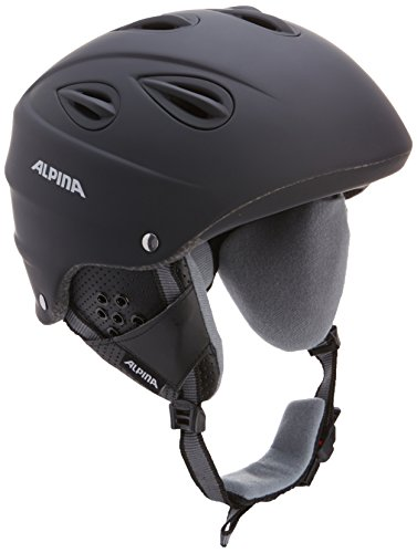 Alpina Skihelm Grap, black matt, 57-61, 9036333