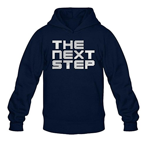 Tommery Men's the Next Step Show Logo Long Sleeve Sweatshirts - Flash Nude Video