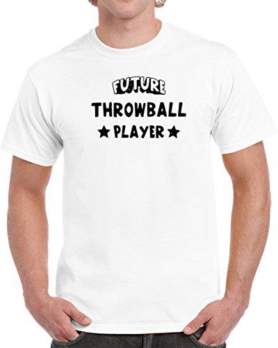 Throwball Player - Future Throwball Player Unisex T Shirt S White