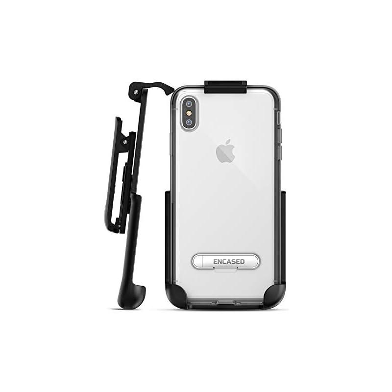 Encased iPhone Xs MAX Belt Clip Clear Ca