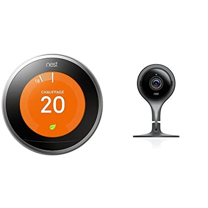 Nest Learning Thermostat 3rd gen. - Termostato (Acero inoxidable, Analógico, 53 x