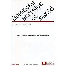 REVUE SCIENCES SOCIALES ET SANTÉ VOLUME 24 NO01