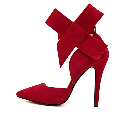 Red Bottom High Heel Shoes - 6