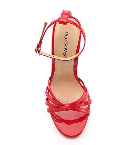 Zapatos Mujer Tac Sandalias de para Zx07g7