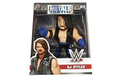 "Metals WWE Classic 4"" AJ Styles  Toy Figure"